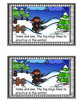 Science Reader - Little Ninja, Big Ninja (Seasons)