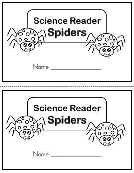 Science Reader - Spiders