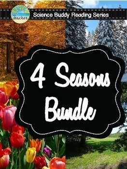 Science Buddy Reading: 4 Seasons Bundle