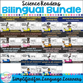 Science Readers {Bilingual Bundle}