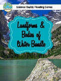 Science Buddy Reading: Landforms & Water Cycle Bundle