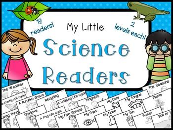 Science Readers for Primary Grades {Non-Fiction}