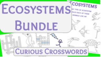 Science Reading Activities- Ecosystems Bundle
