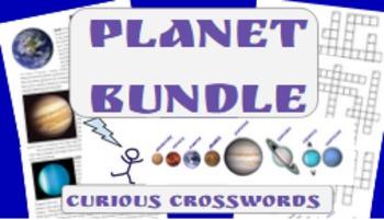 Science Reading Activities- Planet Bundle