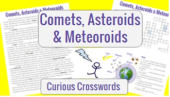 Science Reading Activity- Comets, Asteroids, and Meteoroids