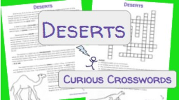 Science Reading Activity- Deserts