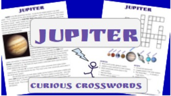 Science Reading Activity- Planet Jupiter