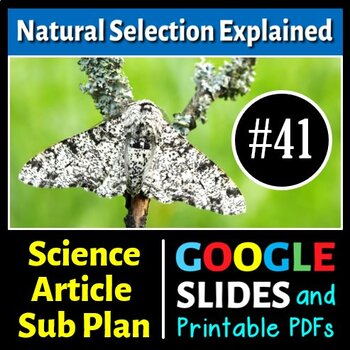 Science Literacy Reading #41 - Natural Selection Explained
