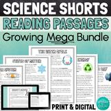 Science Reading Comprehension Bundle - 14 passages!