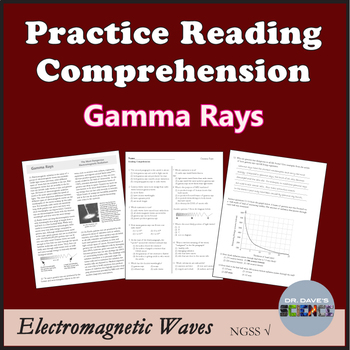 Science Reading Comprehension Electromagnetic Radiation