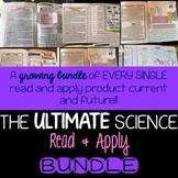 Science Interactive Notebook Reading Comprehension COMPLETE BUNDLE
