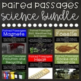 Science Reading Comprehension Paired Passages {Bundle 1}