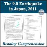 Science Earthquake Reading Comprehension Passage and Questions