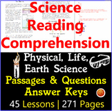 Science Reading Comprehension Passages and Questions | MEG