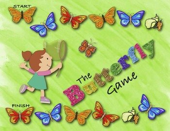 Life Cycle of a Butterfly | Butterfly Life Cycle Game Kindergarten 1st 2nd