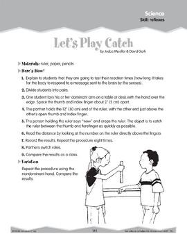 Science: Reflexes (Ten-Minute Activities)