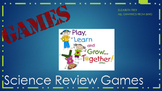 Science Relay Games for Review