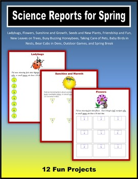 Science Reports for Spring
