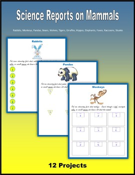 Science Reports on Mammals