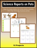 Science Reports on Pets (Print + Digital Activity)