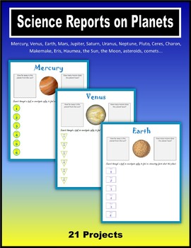 Science Reports on Planets