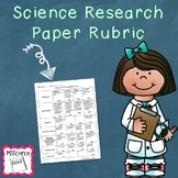 Science Research Paper Rubric