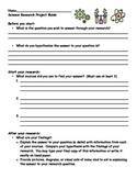 Science Research Project Guide