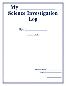 Science Research and Lab Log