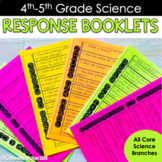 Science Response Booklets