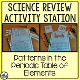 Science Review Activity: Patterns on the Periodic Table of Elements 8.5.C