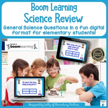Science Review BOOM Cards