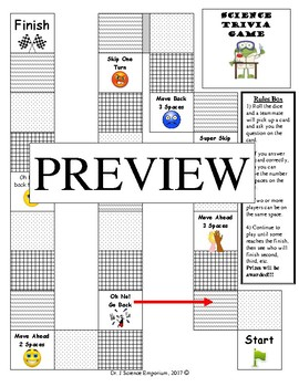 Science Review Board Game