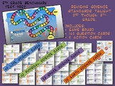 Science Review Board Game for Grade 5 State Benchmark Exam