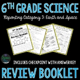 Science Review Booklet - Earth and Space - 6th Grade