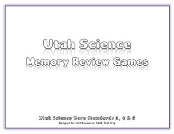Utah Science Review Bundle