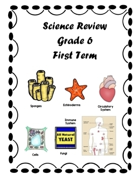 Science Review First Term Grade 6