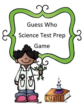 Science Test Review Game: Guess Who Theme