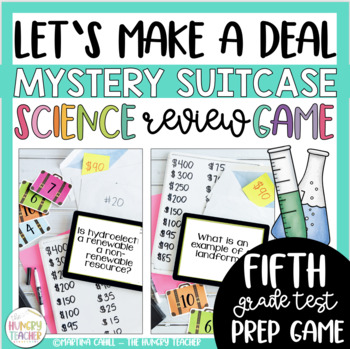 Science Review Game Show Let's Make a Deal {5th and 6th Grade Test Prep}
