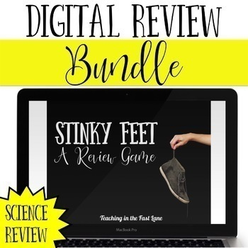 Science Review Game Stinky Feet Bundle