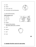 Science Review: Landforms, All about animals and plants an