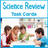Science Task Cards for Second and Third Grade Review