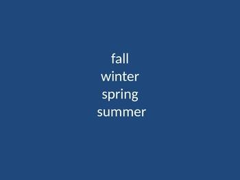 Science Review Seasons