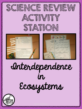Science Review Station: Interdependence in Ecosystems 8.11.B