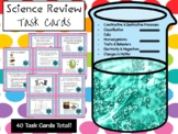 Science Review Task Cards  **EDITABLE**