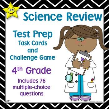 Science Test Prep Task Cards