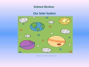 Science Review: The Solar System