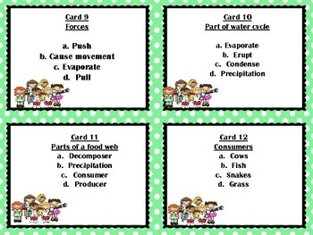 STAAR Review:  What Does not Belong?  STAAR, NGSS, End of Year Vocabulary