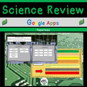 Science Review with Google Apps