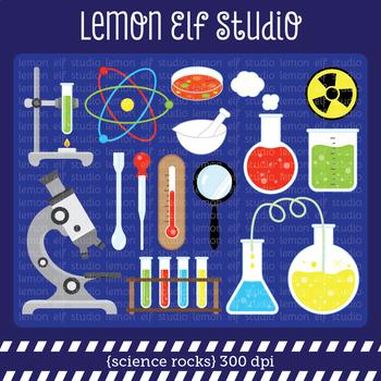 Science Rocks-Digital Clipart (LES.CL63)