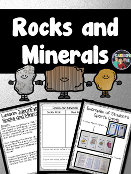 Science - Rocks and Minerals Unit and Unit Project